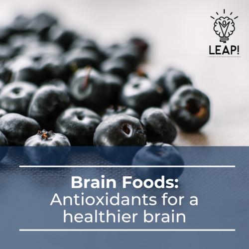 Brain Foods: Antioxidants for a healthier brain